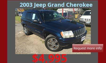 2003 Jeep Grand Cherokee 4dr Laredo 4WD SUV - Denison TX
