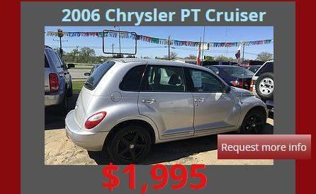 2006 Chrysler PT Cruiser 4dr Wagon - Denison TX