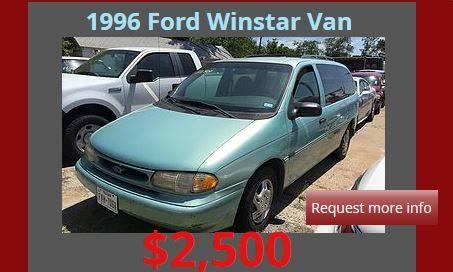 1996 Ford Windstar 3dr GL Mini-Van - Denison TX
