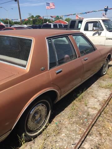 1982 Chevrolet Caprice Classic 4dr Sedan - Denison TX