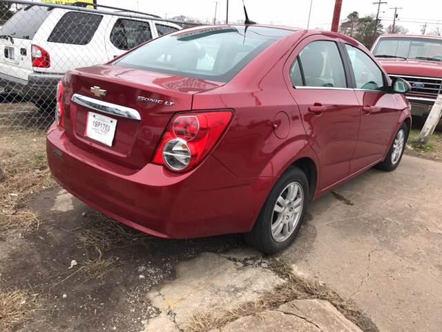 2012 Chevrolet Sonic LT 4dr Sedan w/2LT - Denison TX