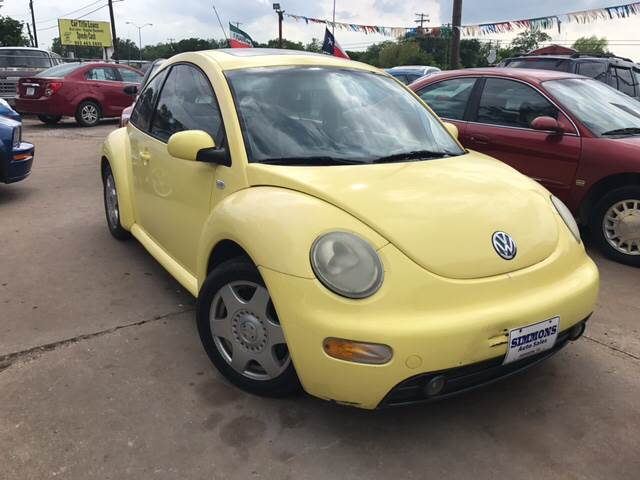 2001 Volkswagen New Beetle 2dr GLX 1.8T Turbo Hatchback - Denison TX
