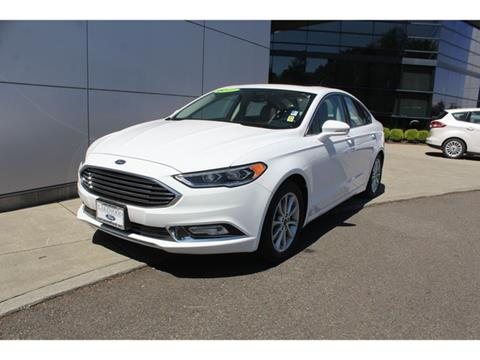 2017 Ford Fusion for sale in Lakewood, WA