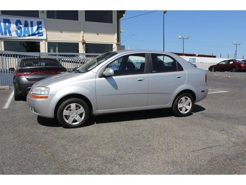 2006 Chevrolet Aveo for sale in Lakewood, WA