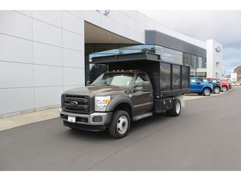 2012 Ford F-550 for sale in Lakewood, WA