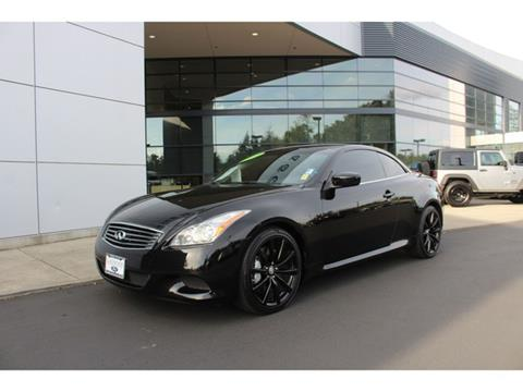 2010 Infiniti G37 Convertible for sale in Lakewood, WA