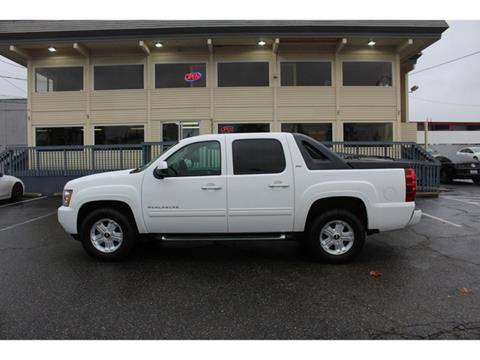 2012 Chevrolet Avalanche for sale in Lakewood, WA