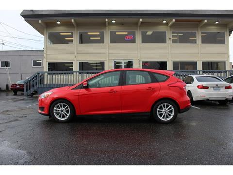 2016 Ford Focus for sale in Lakewood, WA