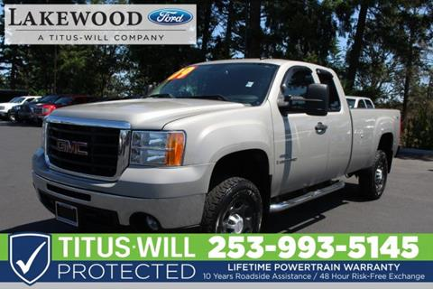 2009 GMC Sierra 3500HD for sale in Lakewood, WA