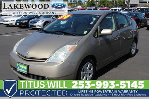 2004 Toyota Prius for sale in Lakewood, WA