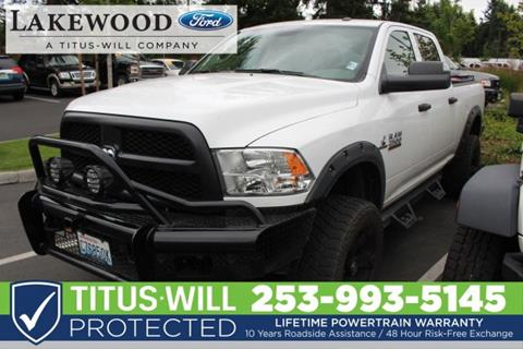 2017 RAM Ram Pickup 2500 for sale in Lakewood, WA