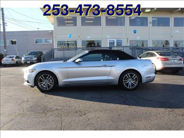 2015 Ford Mustang for sale in Lakewood, WA
