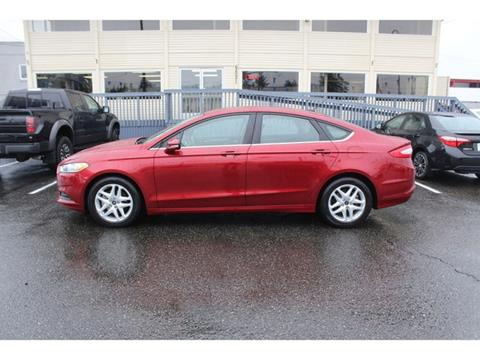 2016 Ford Fusion for sale in Lakewood, WA