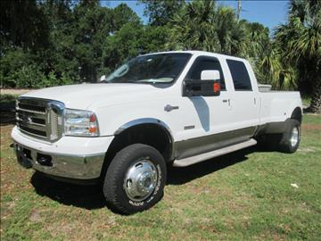 2007 Ford F-350 Super Duty for sale at Panama Motor Sales in Jacksonville FL