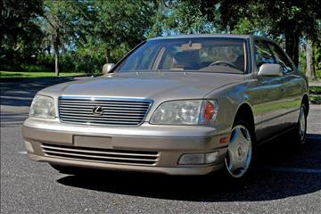 1999 Lexus LS 400 for sale at Panama Motor Sales in Jacksonville FL