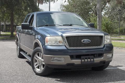 2005 Ford F-150 for sale at Panama Motor Sales in Jacksonville FL
