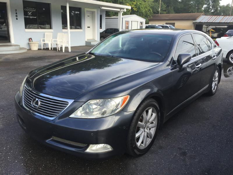 left auctions only dealer copart view lot silver raleigh title auto in online for clean sale on en lexus carfinder ls nc