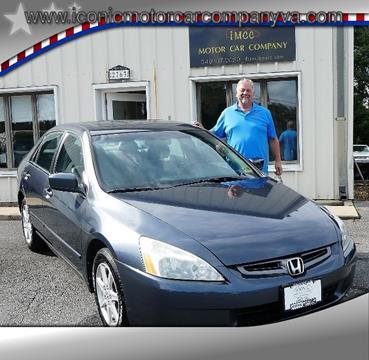 2004 Honda Accord for sale in Harrisonburg, VA