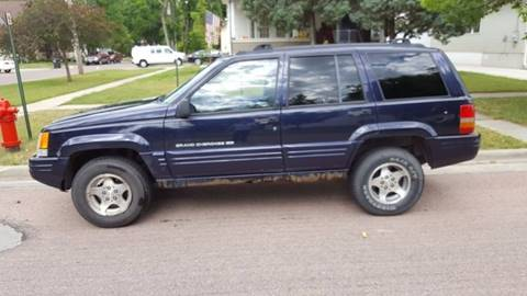 1998 Jeep Grand Cherokee for sale at GOOD NEWS AUTO SALES in Fargo ND