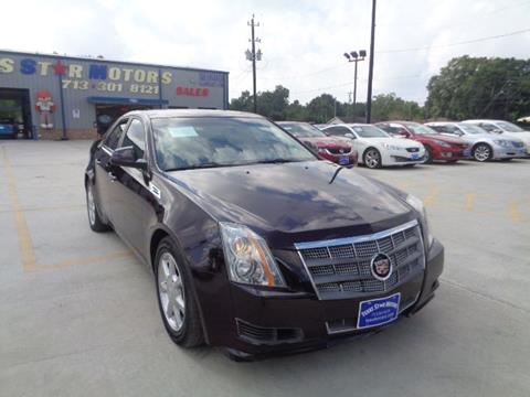 2008 Cadillac CTS for sale in Houston, TX