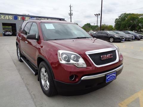 2011 GMC Acadia for sale in Houston, TX