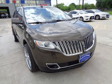 2011 Lincoln MKX for sale in Houston, TX