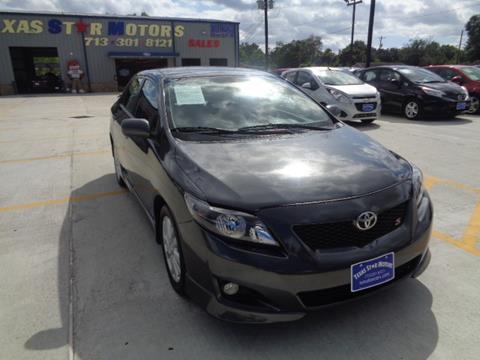 2010 Toyota Corolla for sale in Houston, TX