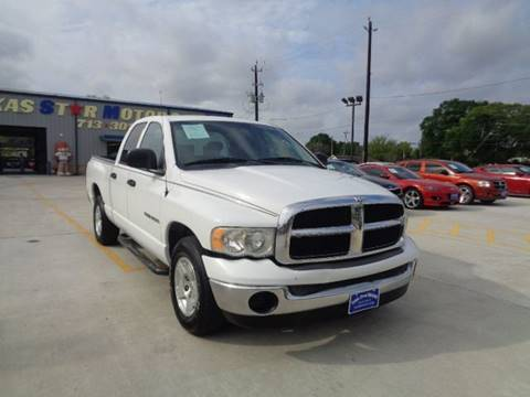 2005 Dodge Ram Pickup 1500 for sale in Houston, TX