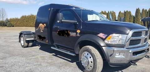 2018 RAM Ram Chassis 5500 for sale at Recovery Team USA in Slatington PA
