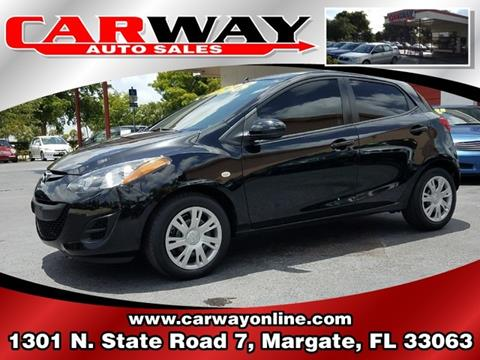 2011 Mazda MAZDA2 for sale in Margate FL