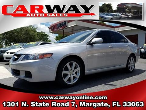 2004 Acura TSX for sale in Margate, FL
