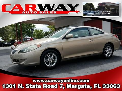 2006 Toyota Camry Solara for sale in Margate, FL
