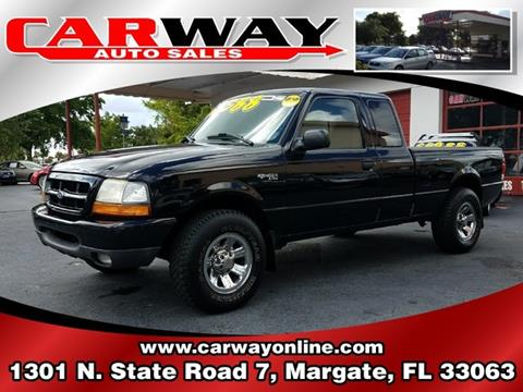 2000 Ford Ranger for sale in Margate, FL