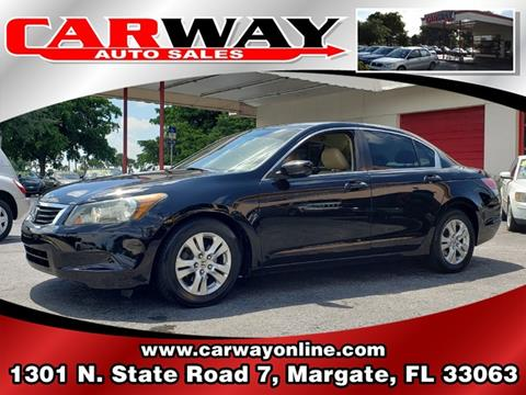 2010 Honda Accord for sale in Margate, FL