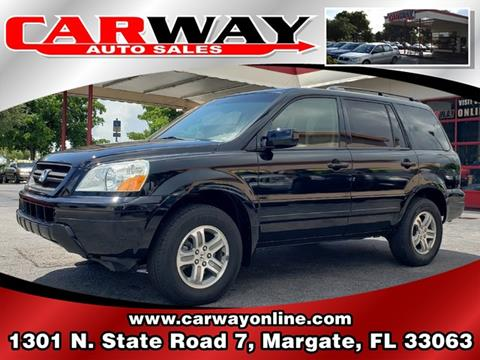 2004 Honda Pilot for sale in Margate, FL