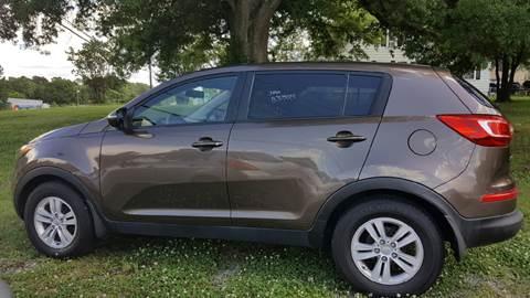 2011 Kia Sportage for sale at Progress Auto Sales in Durham NC