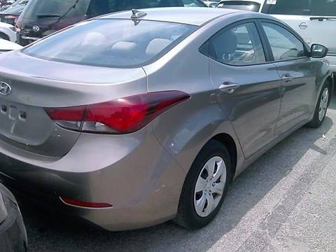 2016 Hyundai Elantra for sale at Progress Auto Sales in Durham NC