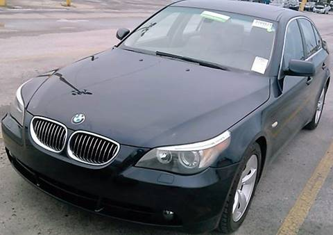 2007 BMW 5 Series for sale at Progress Auto Sales in Durham NC