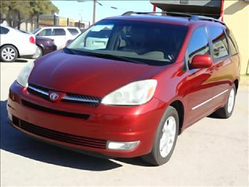 2004 Toyota Sienna for sale at 123 Car 2 Go LLC in Dallas TX
