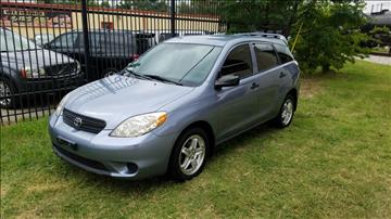 2006 Toyota Matrix for sale at 123 Car 2 Go LLC in Dallas TX