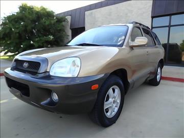 2004 Hyundai Santa Fe for sale at 123 Car 2 Go LLC in Dallas TX