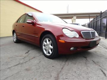 2002 Mercedes-Benz C-Class for sale at 123 Car 2 Go LLC in Dallas TX