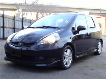 2007 Honda Fit for sale at 123 Car 2 Go LLC in Dallas TX