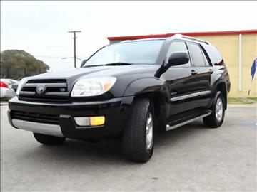 2003 Toyota 4Runner for sale at 123 Car 2 Go LLC in Dallas TX