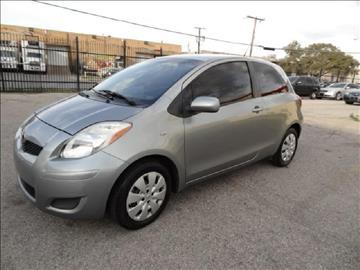 2010 Toyota Yaris for sale at 123 Car 2 Go LLC in Dallas TX