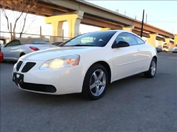 2006 Pontiac G6 for sale at 123 Car 2 Go LLC in Dallas TX
