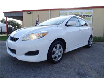 2009 Toyota Matrix for sale at 123 Car 2 Go LLC in Dallas TX