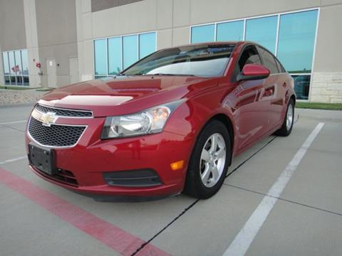 2012 Chevrolet Cruze for sale at F.M Auto Sale LLC in Dallas TX