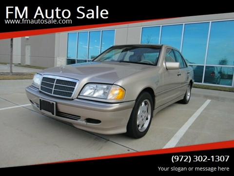 2000 Mercedes-Benz C-Class for sale at F.M Auto Sale LLC in Dallas TX