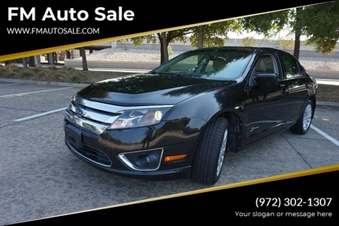 2010 Ford Fusion Hybrid for sale in Dallas, TX